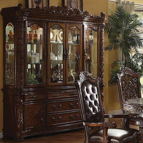 Acme Furniture Vendome Traditional Hutch & Buffet