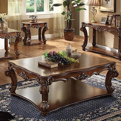 Acme Furniture Vendome Rectangular Coffee Table