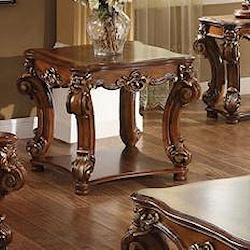 Acme Furniture Vendome Square End Table