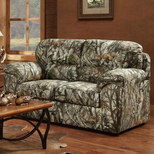 Affordable Furniture 5500 Loveseat with Pillow Arms