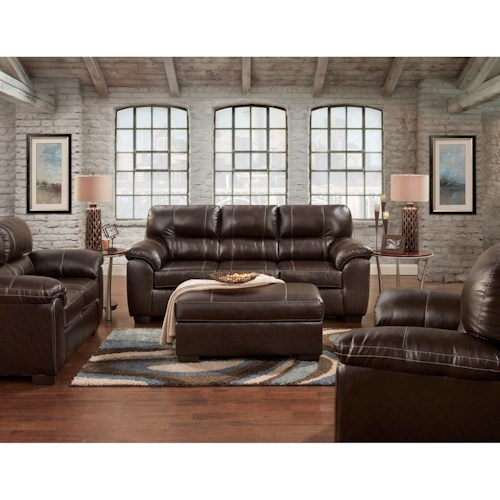Affordable Furniture 5600 Stationary Living Room Group