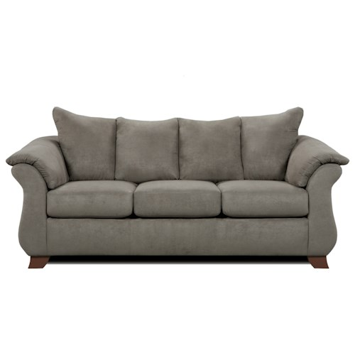 Affordable Furniture 6700 Three Seat Queen Size Sleeper Sofa