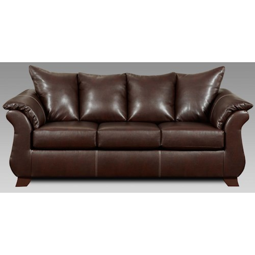 Affordable Furniture 6700 Queen Sleeper w/ Pillow Arms