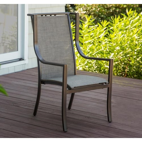 Morris Home Furnishings Cascade Outdoor Side Chair