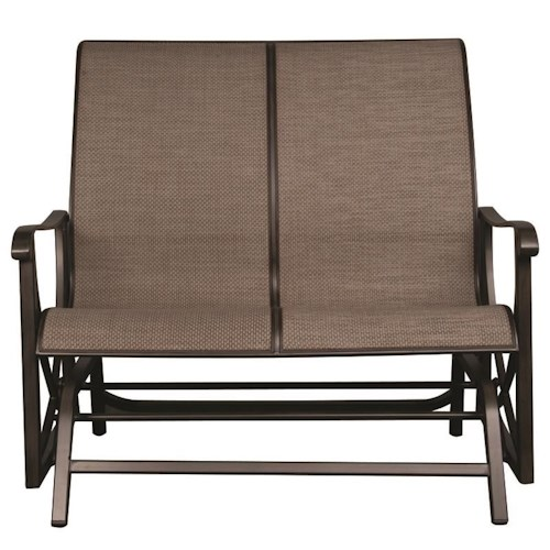Morris Home Furnishings Davyton Outdoor Double Glider