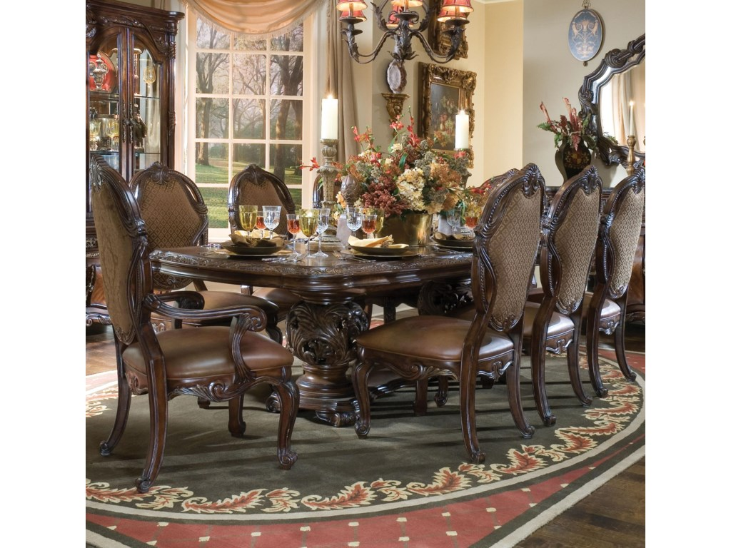 Shown with Dining Table and Side Chairs