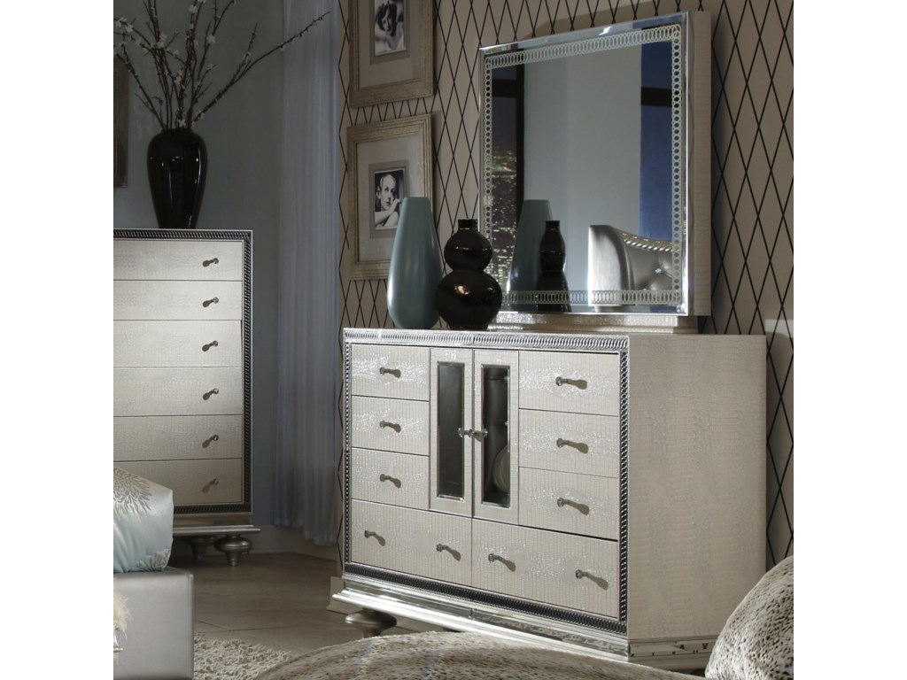 Shown with Rectangle Mirror