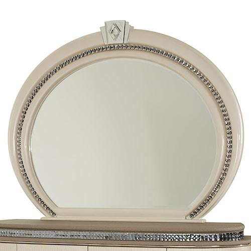 Michael Amini Overture Oval Dresser Mirror