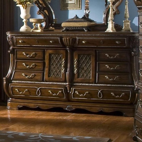 Michael Amini The Sovereign Dresser w/ 2 Doors