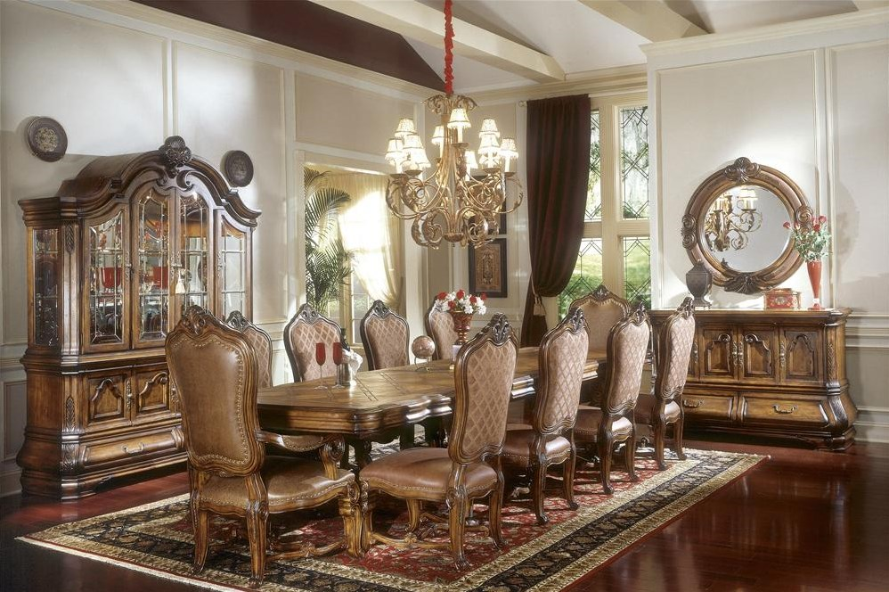 Shown with China & Buffet, Sideboard, and Sideboard Mirror