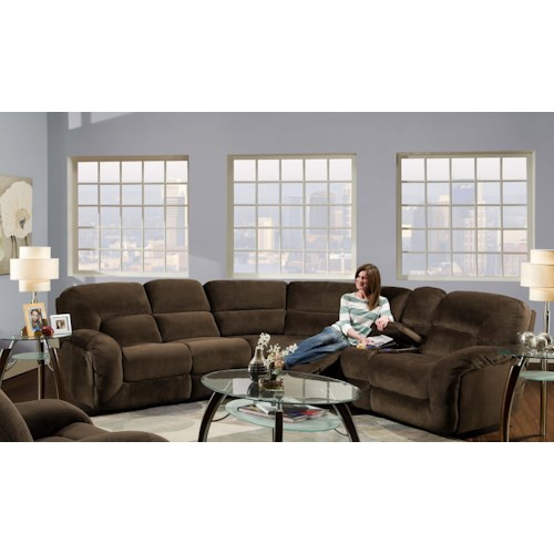 Albany 1735 3 Piece Reclining Sectional Sofa J J Furniture Reclining Sectional Sofa Mobile