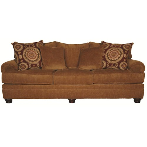 Morris Home Furnishings Wyatt Upholstery Sofa