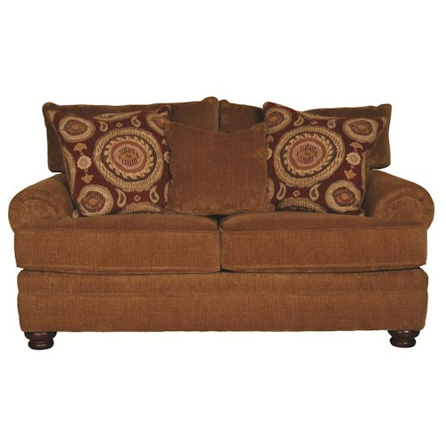 Morris Home Furnishings Wyatt Upholstery Loveseat