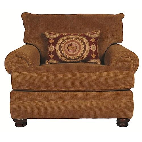 Morris Home Furnishings Wyatt Upholstery Chair