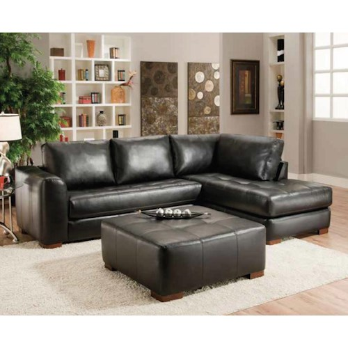 Albany 275 Contemporary Sectional Sofa with Chaise