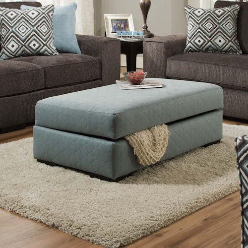 Albany 734 Storage Ottoman with Lift Top