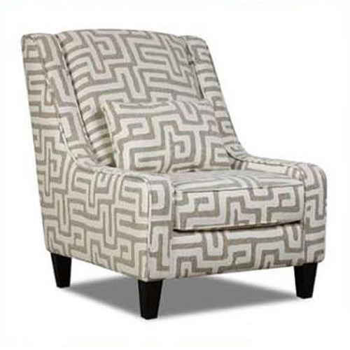 Albany 8686 Traditional Accent Wing Chair