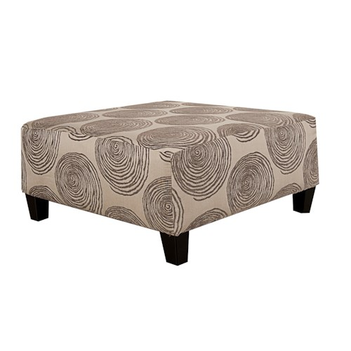 Morris Home Furnishings Agustus Ottoman