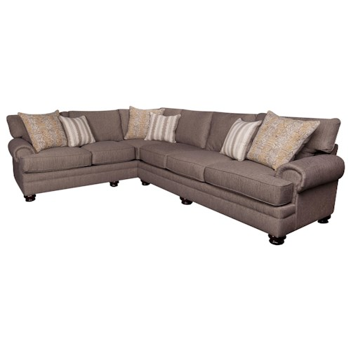Morris Home Furnishings Cosette 2-Piece Sectional