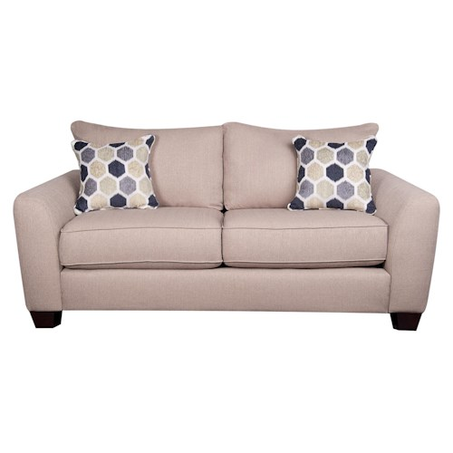 Morris Home Furnishings Remedy Loveseat