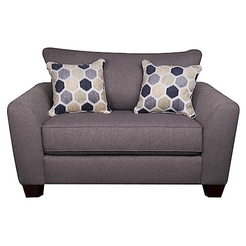 Morris Home Furnishings Remedy Chair 1/2
