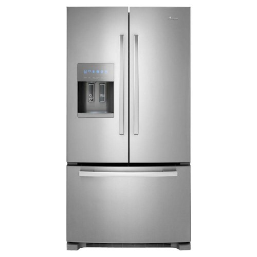Amana Bottom Mount Refrigerators 25' French Door Refrigerator
