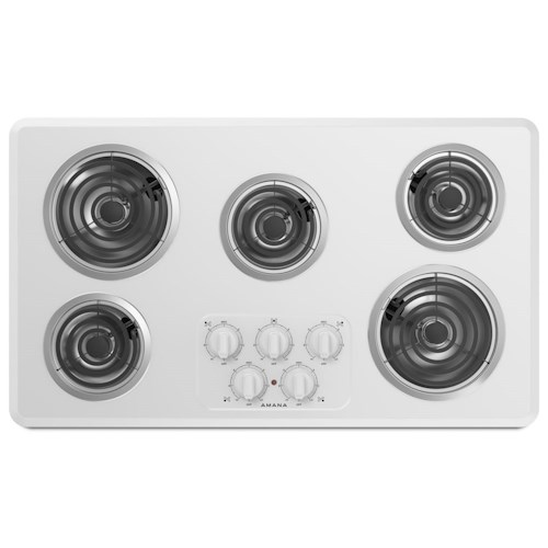 Amana Electric Cooktops - Amana 30-inch Amana® Electric Cooktop with 4 Elements