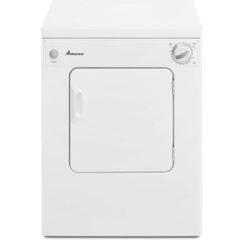 Amana Dryers 3.4 cu. ft. Compact Dryer with Automatic Dryness Control