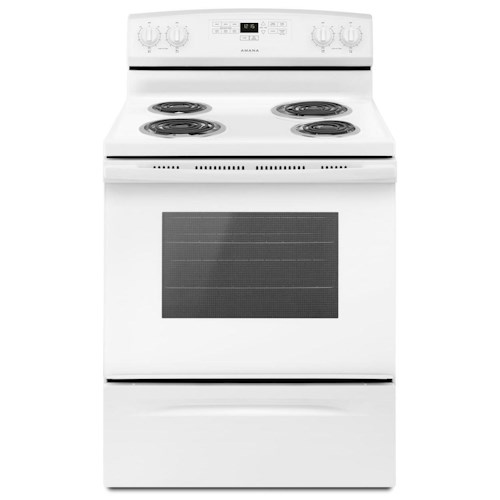 Amana Electric Ranges - Amana 30-inch Amana® Electric Range with Bake Assist Temps