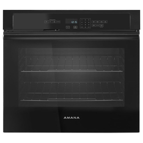 Amana Electric Wall Ovens - Amana 30-inch Amana® Wall Oven with 5.0 cu. ft. Capacity