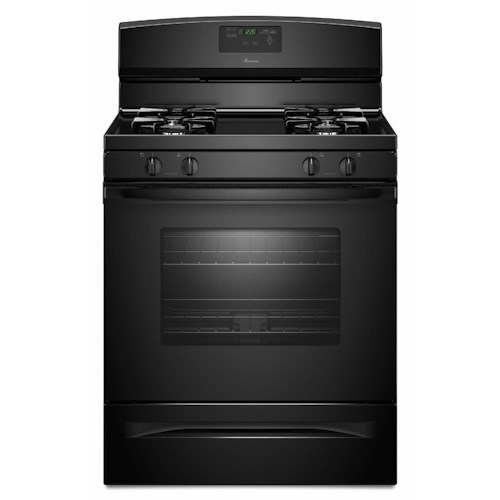Amana Gas Range 5.0 Cu. Ft. Gas Range with Easy Touch Electronic Controls