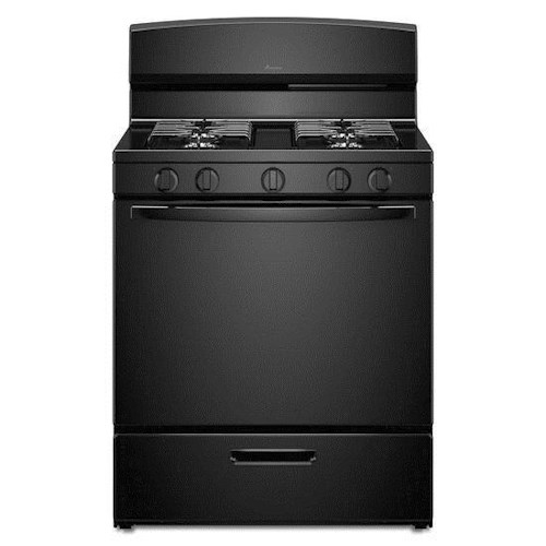 Amana Gas Ranges 5.1 cu. ft. Gas Oven Range with Sealed Gas Burners