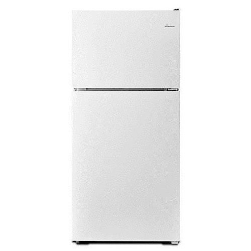 Amana Top Mount Refrigerators 18 cu. ft. Top-Freezer Refrigerator with Electronic Temperature Controls