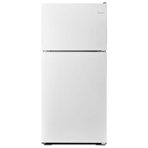 Amana Top Mount Refrigerators 30-inch Wide Top-Freezer Refrigerator with Gallon Door Storage Bins - 18 cu. ft.