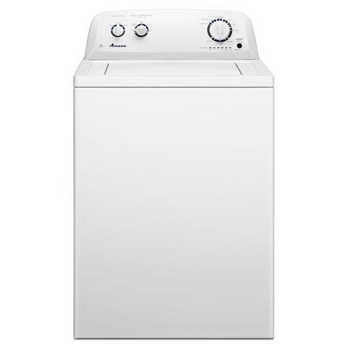 Amana Top-Load Washer 3.5 cu. ft. High-Efficiency Top-Load Washer with Spreckled Porcelain Tub