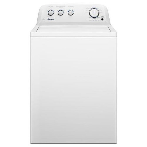 Amana Top-Load Washer 3.5 cu. ft. High-Efficiency Top-Load Washer with White Porcelain Tub