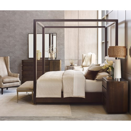 American Drew Ad Modern Organics King Bedroom Group