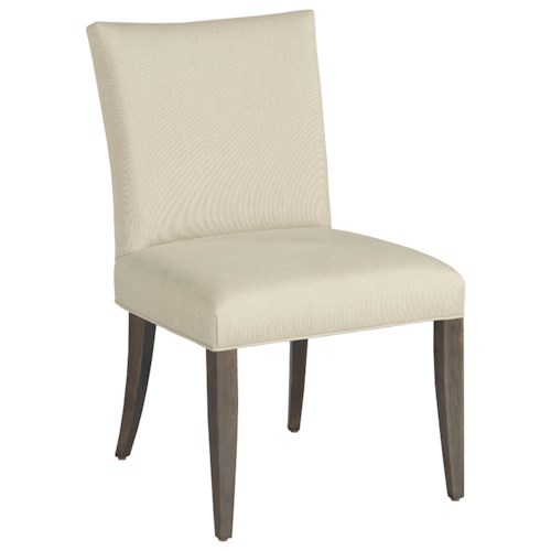 American Drew Ad Modern Organics Benton Side Chair with Upholstered Seat