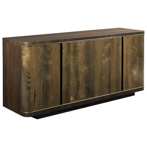 American Drew Ad Modern Organics Gilliam Credenza with USB Outlet