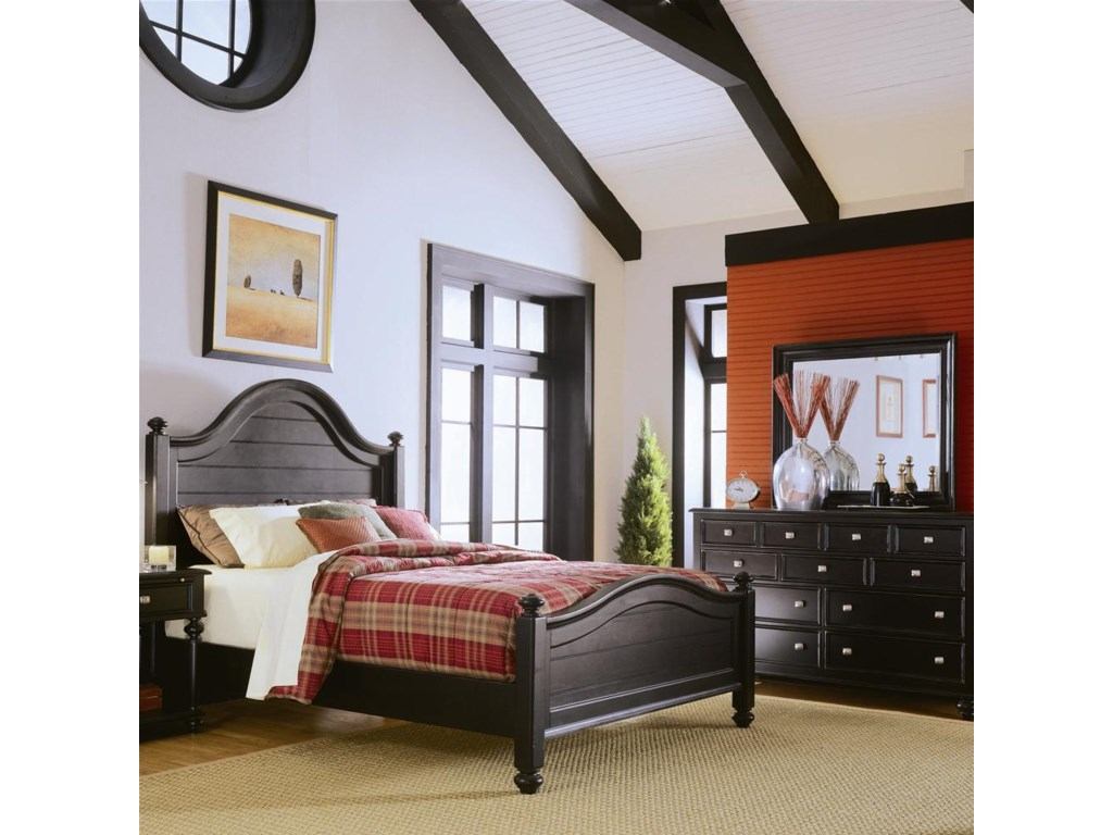 Panel Bed Shown with Dresser - Bed Shown May Not Represent Size Indicated