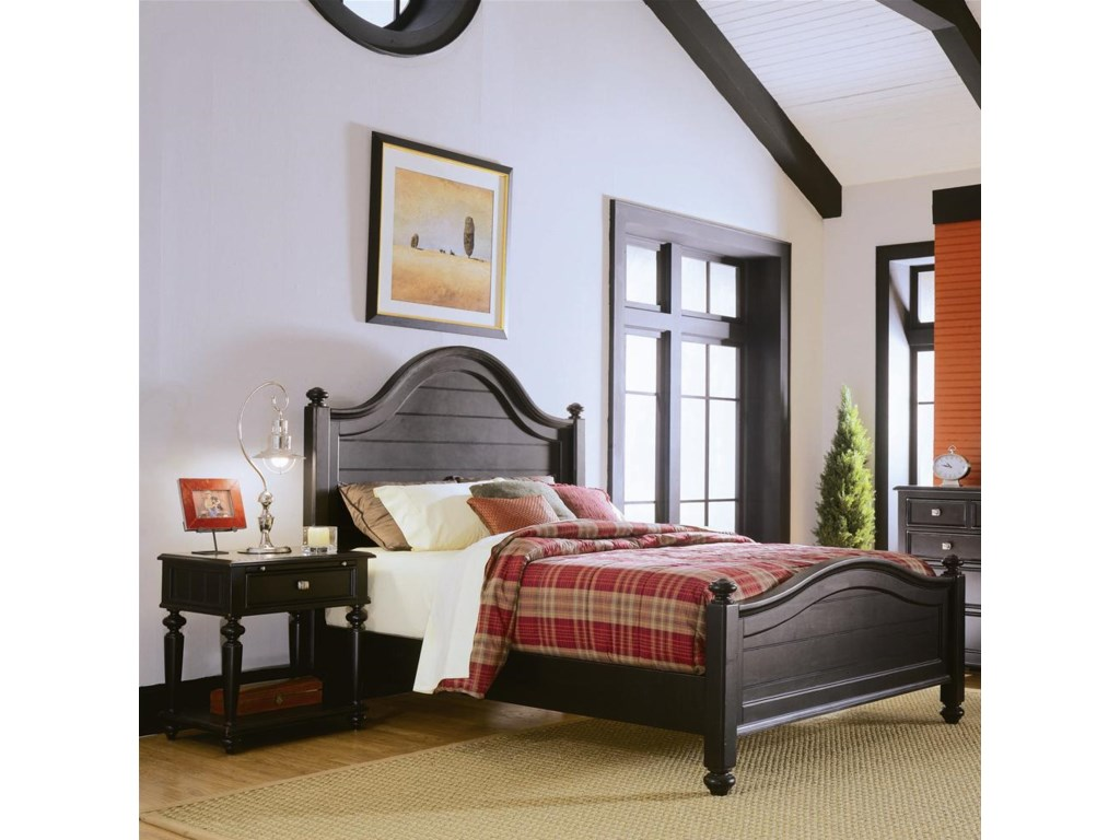 Nightstand Shown with Bed
