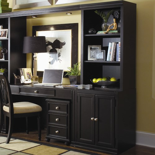American Drew Camden - Dark Bookcase w/ 3 Shelves