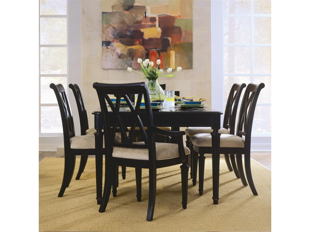 Splat Back Side Chair Shown in Dining Room Setting