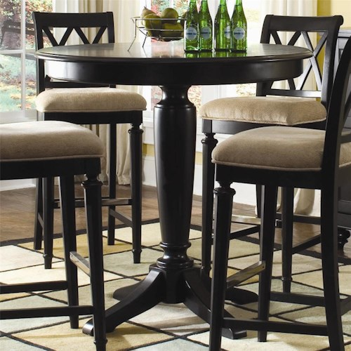 American Drew Camden - Dark Bar Height Gathering Table