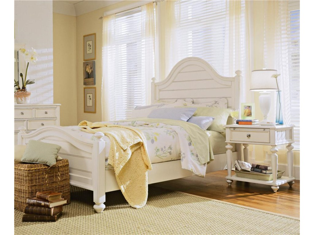 Panel Bed Shown in Bedroom Setting - Bed Shown May Not Represent Size Indicated