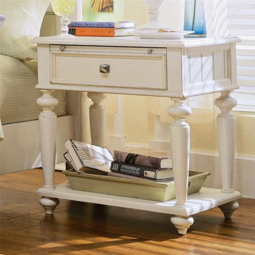 American Drew Camden - Light Leg Nightstand with 1 Drawer