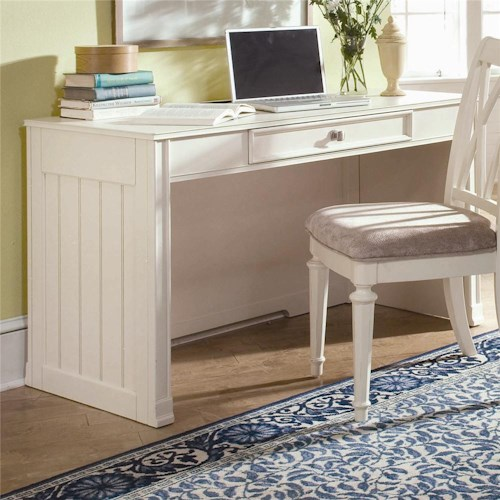 American Drew Camden - Light Desk with Mounted Power Bar