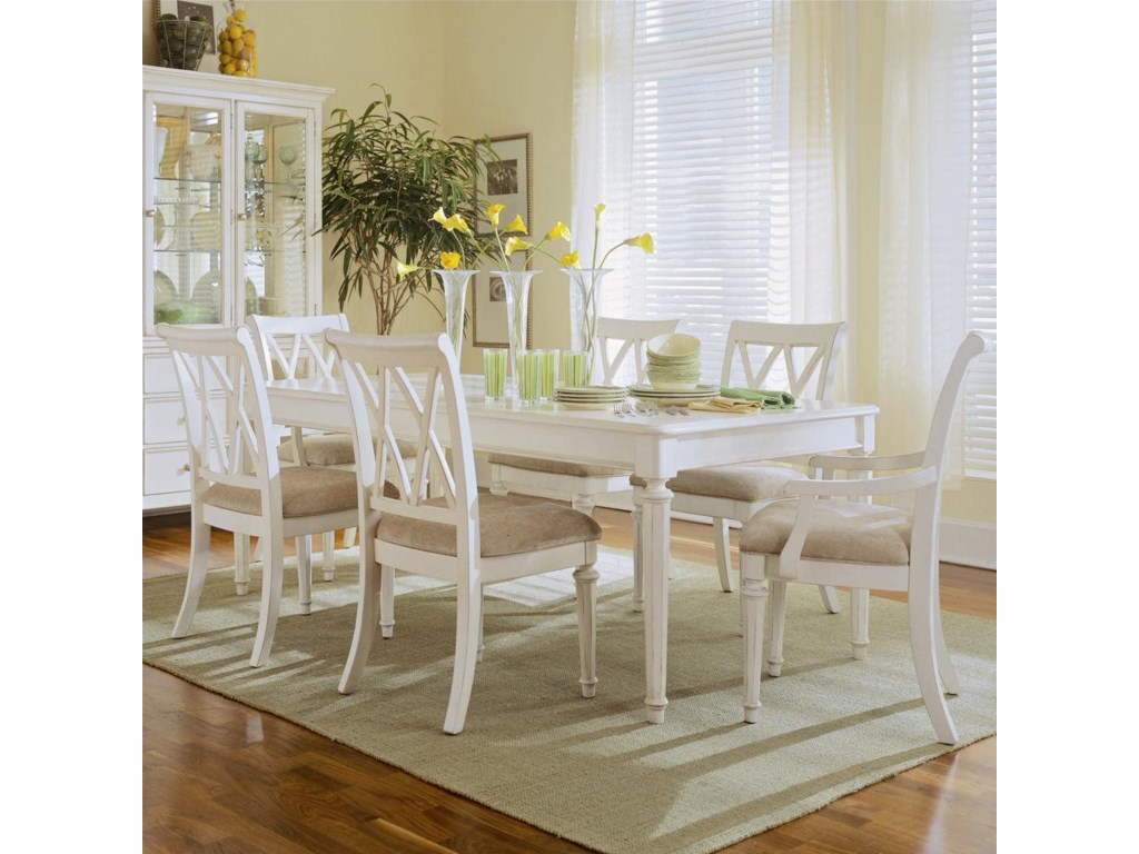 Splat Back Arm Chair Featured with Dinning Table