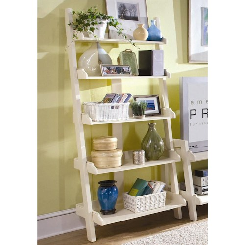 American Drew Camden - Light Wall Storage with Five Shelves