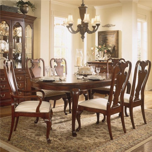 American Drew Cherry Grove 45th 7 Piece Traditional Dining Set